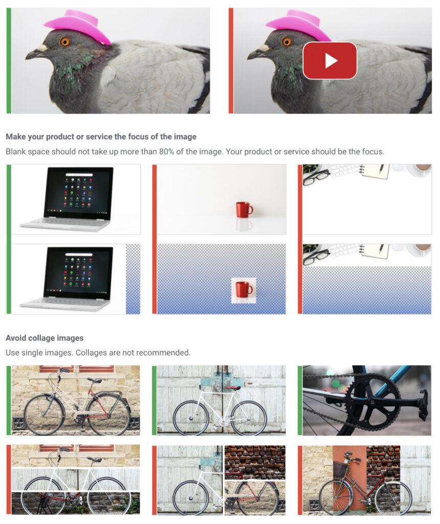 Display ads - image requirements